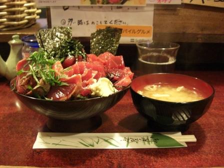 20120224鶴橋まぐろ食堂④