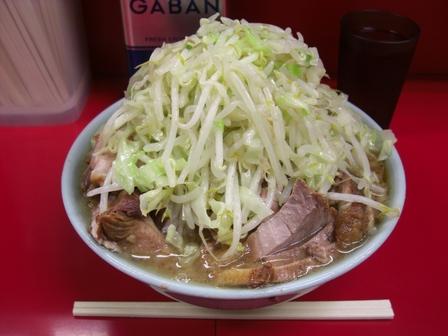 20121106 ラーメン二郎 中山駅前店③