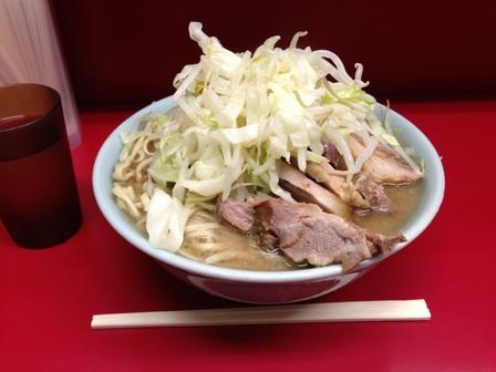 20130916 ラーメン二郎 中山店③