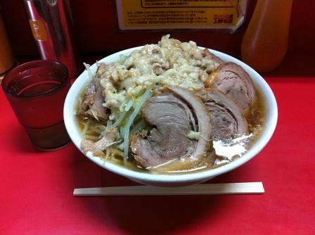 20121113 ラーメン二郎 上野毛店③