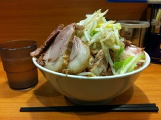 20121120 ラーメン二郎 野猿街道店④