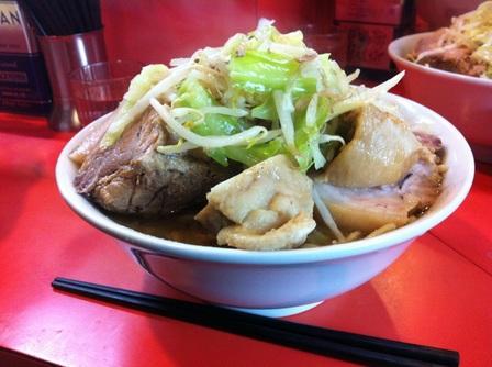 20121226 ラーメン二郎 仙川店③