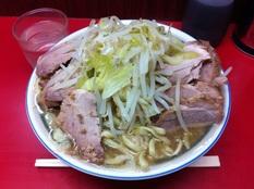 20130122 ラーメン二郎 目黒店④
