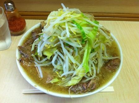 20130202 ラーメン二郎 京成大久保③