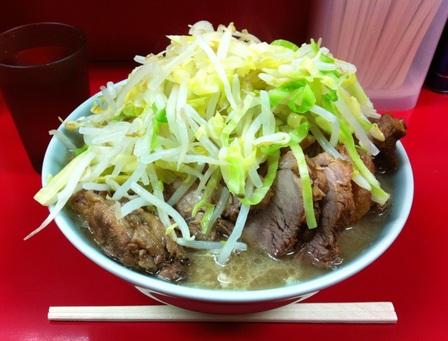 20130220 ラーメン二郎 中山駅前店③