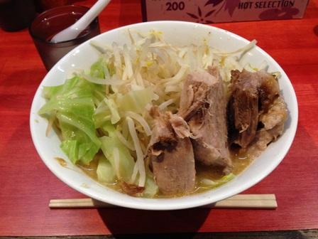 20141003 ラーメン二郎 会津若松③