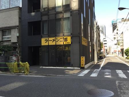 20151003 ラーメン二郎 新橋店
