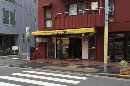 20151119 ラーメン二郎 品川店①