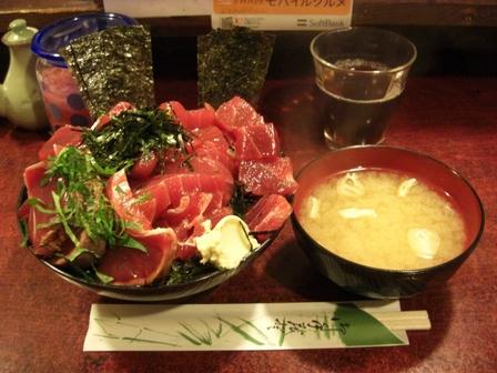 20120224鶴橋まぐろ食堂③