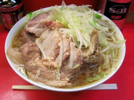 20121124 ラーメン二郎 三田本店③