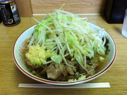 20120919 ラーメン二郎 栃木街道店⑤