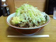 20120919 ラーメン二郎 栃木街道店⑥