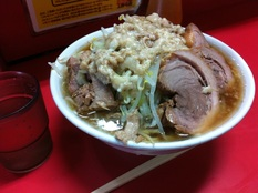 20121113 ラーメン二郎 上野毛店④