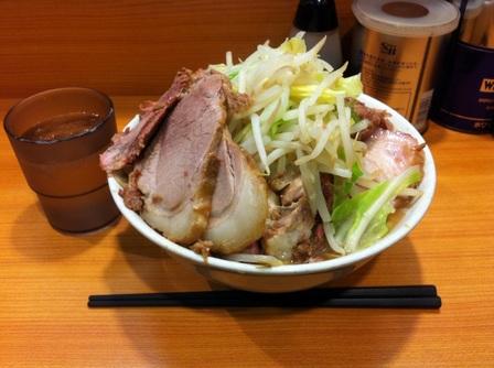 20121120 ラーメン二郎 野猿街道店③