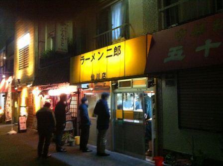 20121226 ラーメン二郎 仙川店①