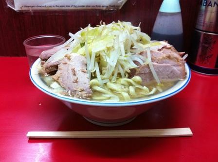 20130122 ラーメン二郎 目黒店③